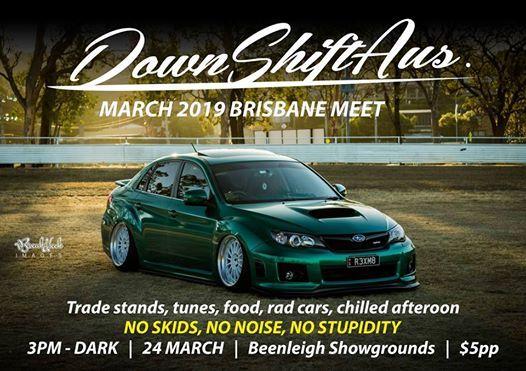 Downshift Brisbane Meet - March 2019