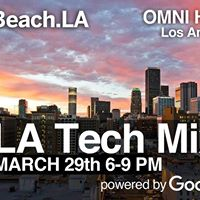 Silicon Beach DTLA Networking Event MARCH 29th powered by Google