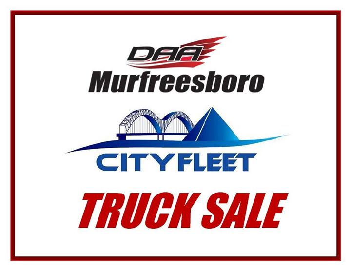 DAA of Murfreesboro City Fleet TRUCK SALE