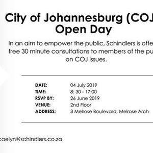 Events in Johannesburg in July 2019