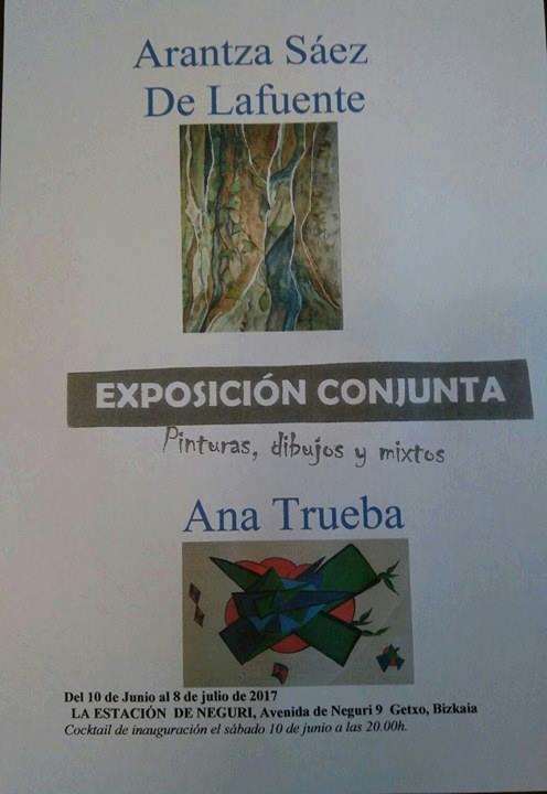 Exposicin Conjunta de Ana Trueba y Arantza Saez de Lafuente
