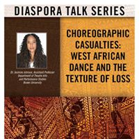 Diaspora Talk Series- Choreographic Casualties