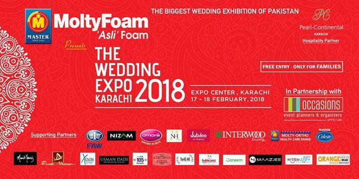 The Wedding Expo Karachi 2018 at Karachi Expo Center, Karachi