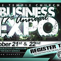 The Temple Church 17th Annual Business Expo