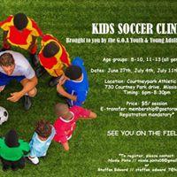 G.O.A Kids Soccer Clinic