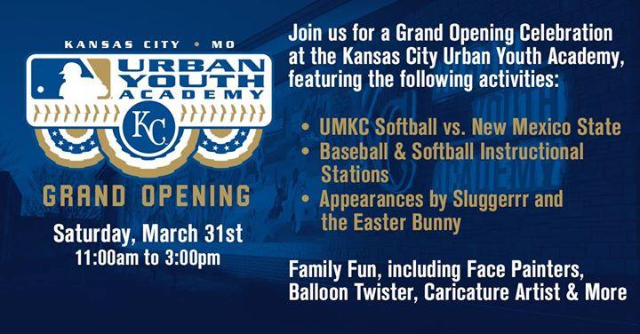 KCUYA Grand Opening Celebration at Kansas City MLB Urban Youth