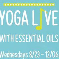 Yoga Live with Essential Oils