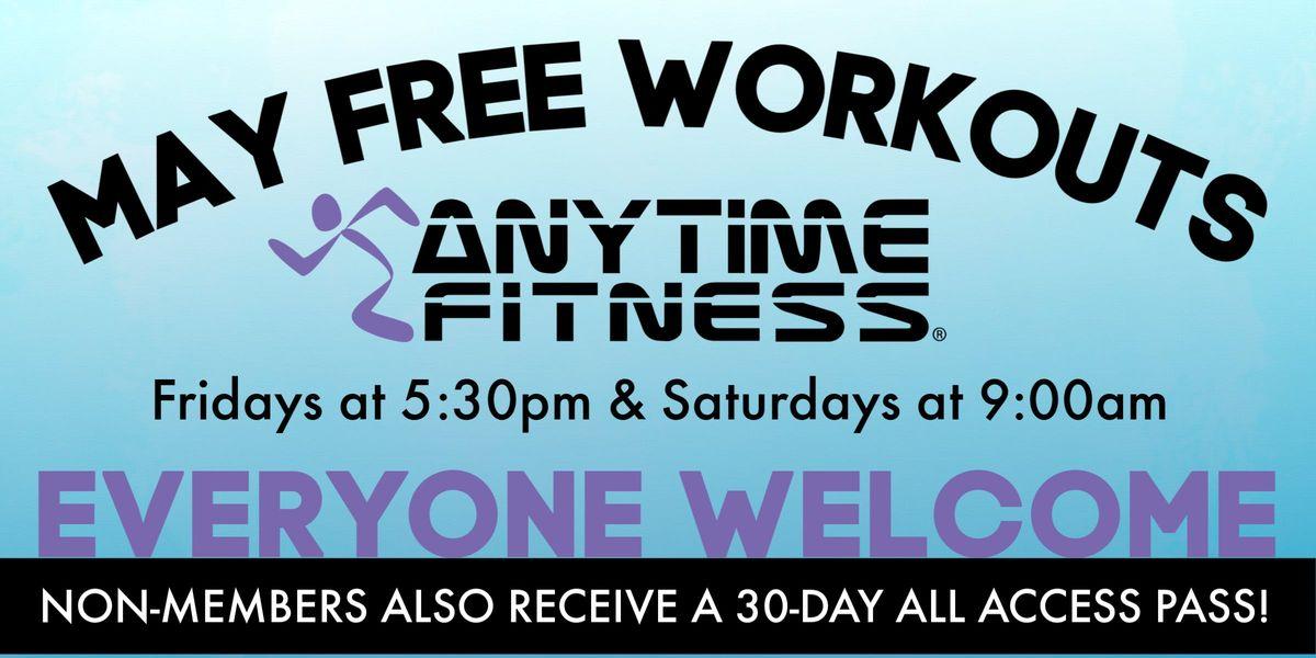May FREE Workouts - Byron
