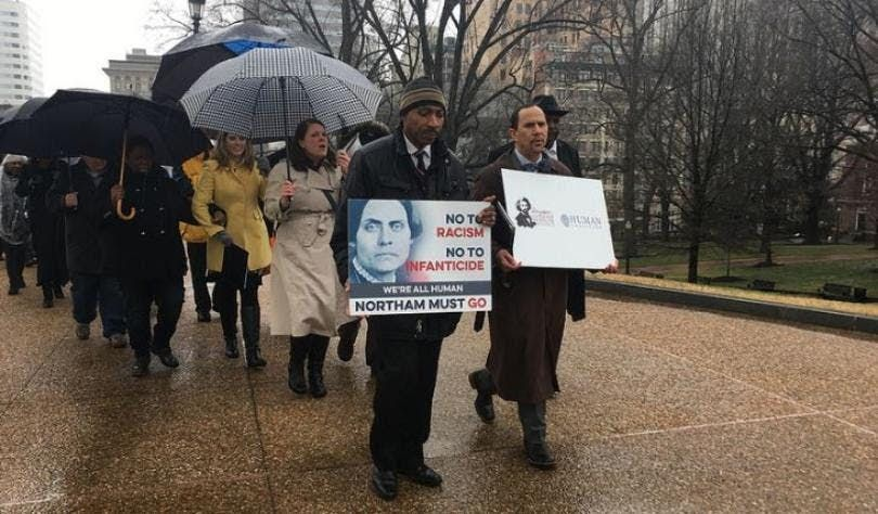 Virginia March for Life and Prayer at the Mansion