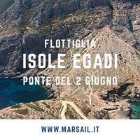Isole Egadi - Flottiglia  Ponte 2 Giugno