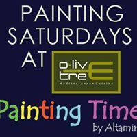 Painting Saturdays at Olive Tree for Music Lovers