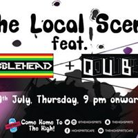 The Local Scene feat. Wobblehead  Qube
