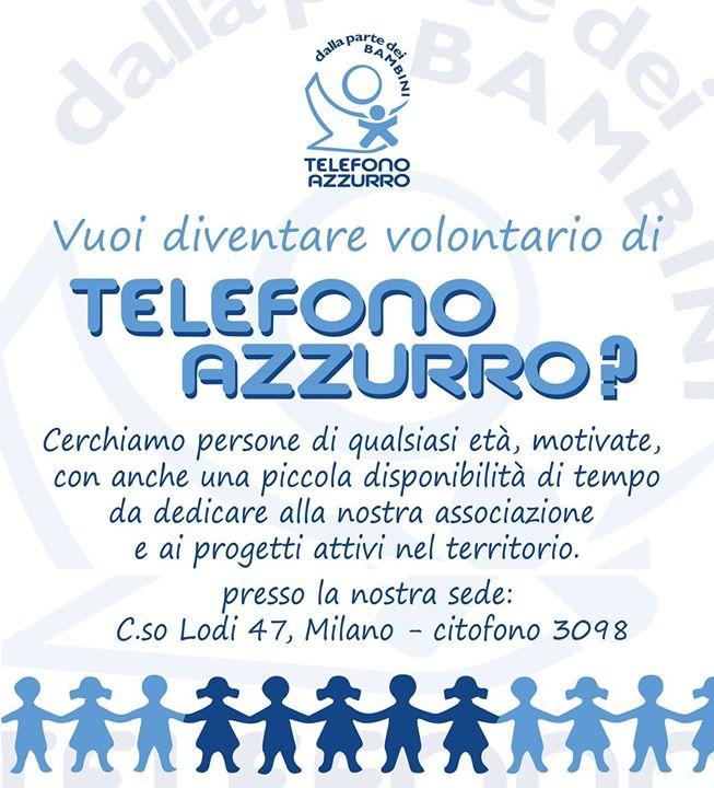 Orientamento Progetti Telefono Azzurro - 16 Gennaio 2017 h.18