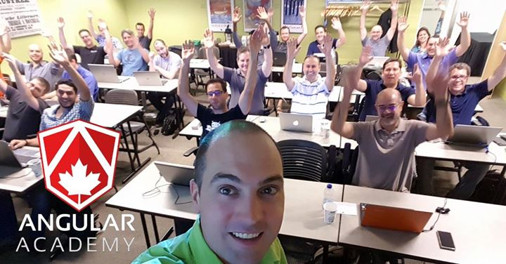 Angular Academy Montreal (intensive technical workshop)