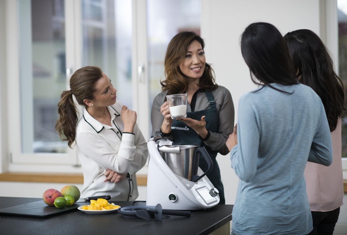 First Cooking Class with Thermomix Bristol 1st of February 2019