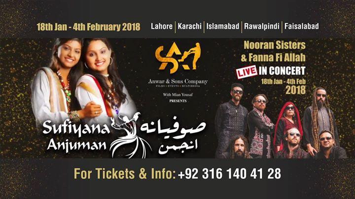 Sufiyana Anjuman Nooran Sisters & FanaFiAllah & Farhana Maqsood