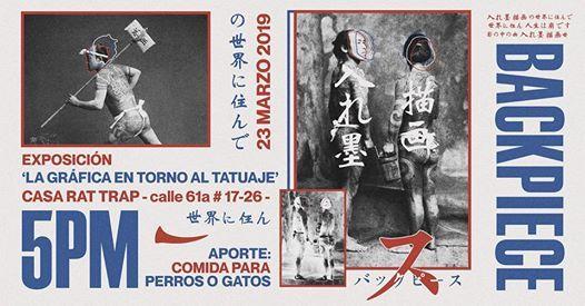 Exposicin Backpiece La Grfica En Torno Al Tatuaje
