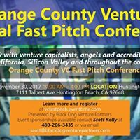 Orange County Venture Capital Fast Pitch Conference