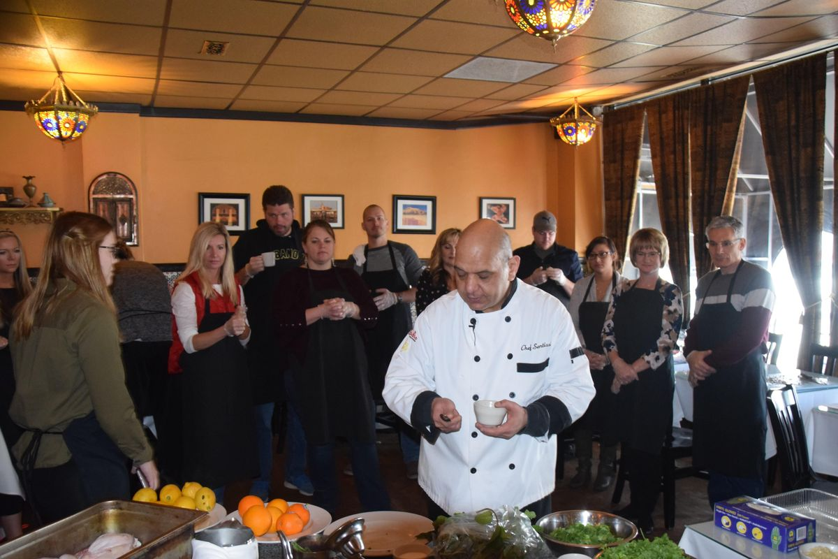 Whole Food Cooking with Chef Sentissi Nutritionist.