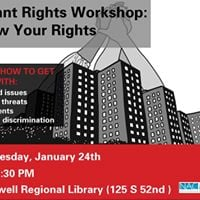 Tenant Rights Workshop