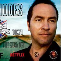 Tom Rhodes Live in Tokyo