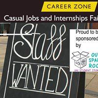 Casual Jobs and Internships Fair