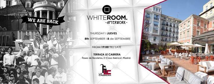 White Room Afterwork Terraza Le Cabrera Casa De América