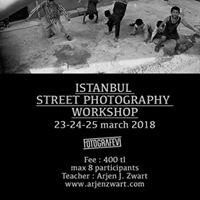 Istanbul Street Photography Workshop - Arjen Zwart