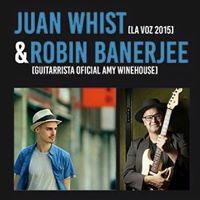 Juan Whist &amp Robin Banerjee En Directe A La Llesca