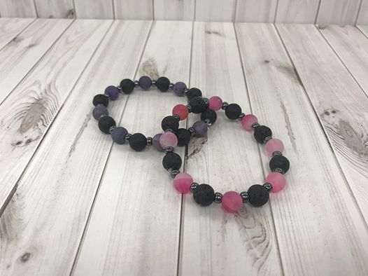 Lava Bead Essential Oil Bracelet 1 Make Take At Craft Warehouse