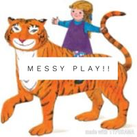 The Tiger Who came to Tea Messy Play 2.30-3.30pm