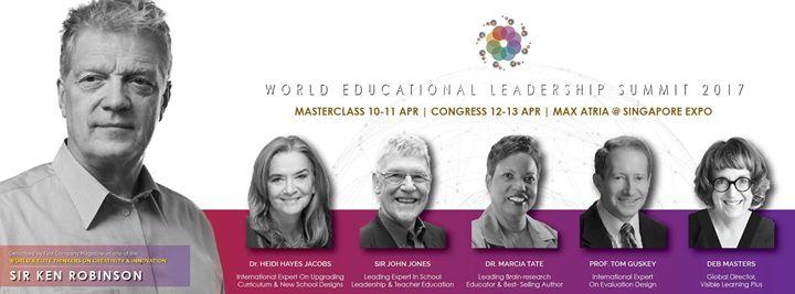 Intase World Educational Leadership Summit 2017 (Congress ...