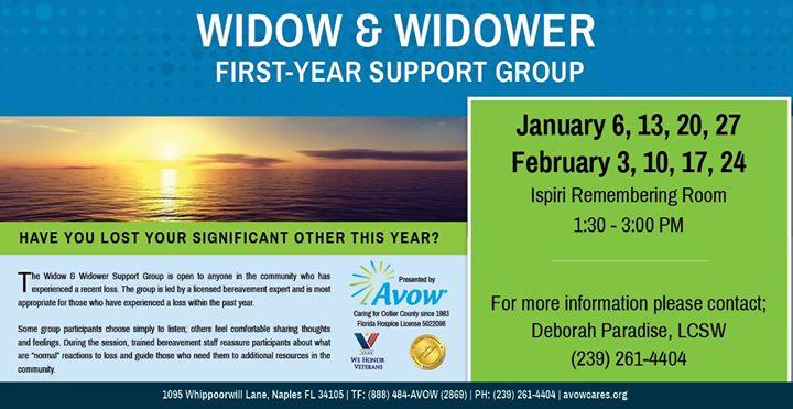 Widower support