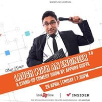 Punchliners Stand-up Comedy show ft. Appurv Gupta in Jaipur