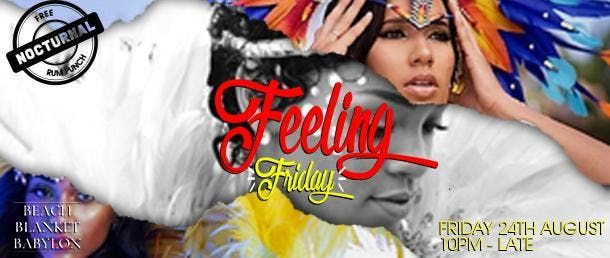 Feeling Friday Carnival Warm-up Party