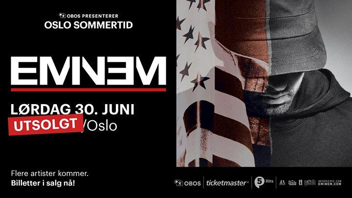 Eminem  OBOS Presenterer Oslo Sommertid