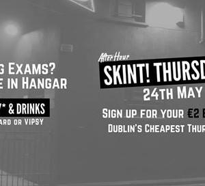 Skint Thursdays At Hangar - 2 Vodkas Btl Beers &amp Entry wVISPY