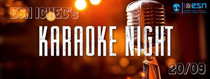 ESN ICHECgot talent - Karaoke night