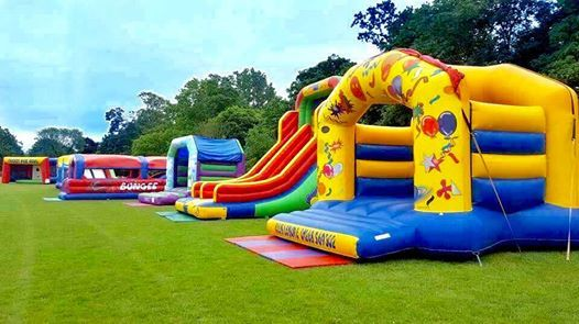 Inflatable Family Fun Day at Harrow Lodge Park Romford