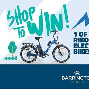 Shop To Win a 2699 Electric Bike at Barrington