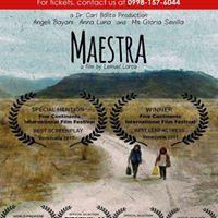 MAESTRA Special Screening  UP FILM CENTER