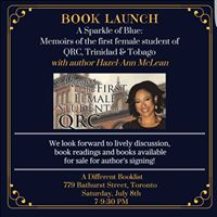 Book Launch A Sparkle of Royal Blue