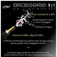 Sylvestre objectif 2018  la Brasserie de lAviron