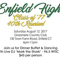 Enfield High School Class of 77 40th Reunion