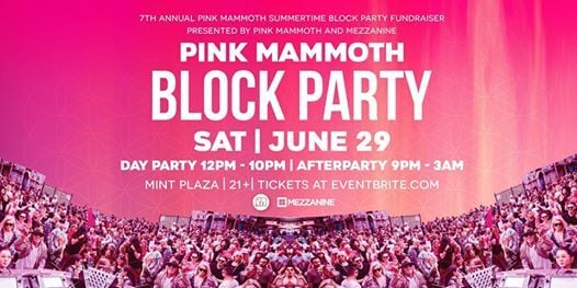7th Annual Pink Mammoth Summertime Block Party Fundraiser