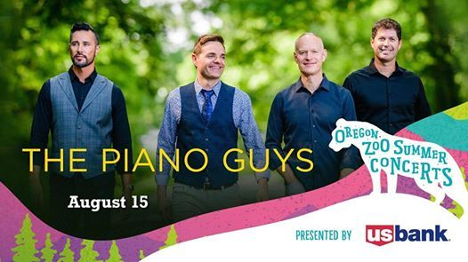ThePianoGuys at the Oregon Zoo Amphitheater