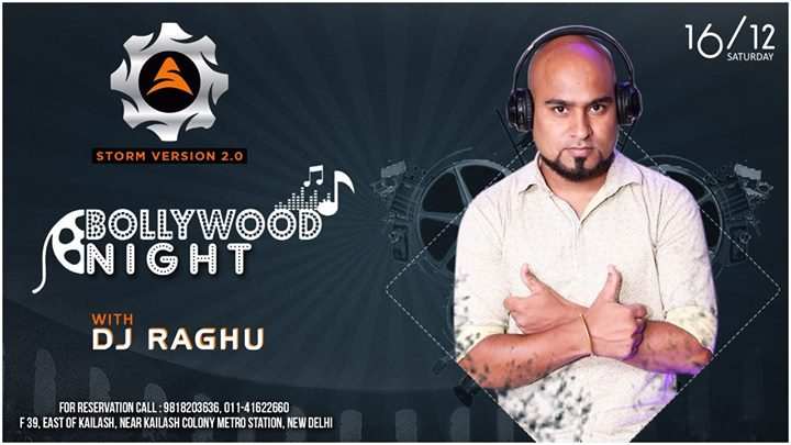 Bollywood Night With DJ Raghu