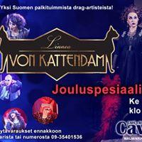 Linnea von Kattendam - jouluspesiaali  ke 16.12.2015 klo 20. Liput 15