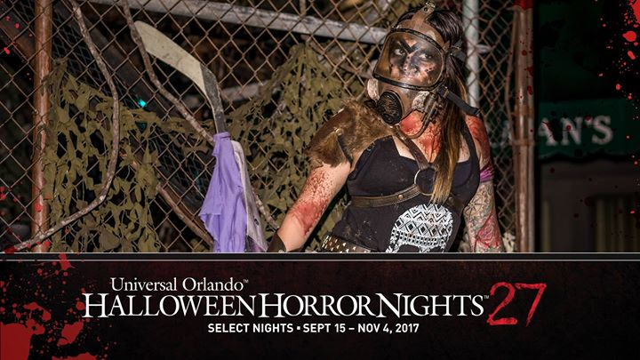 event details - Theme For Halloween Horror Nights 2017