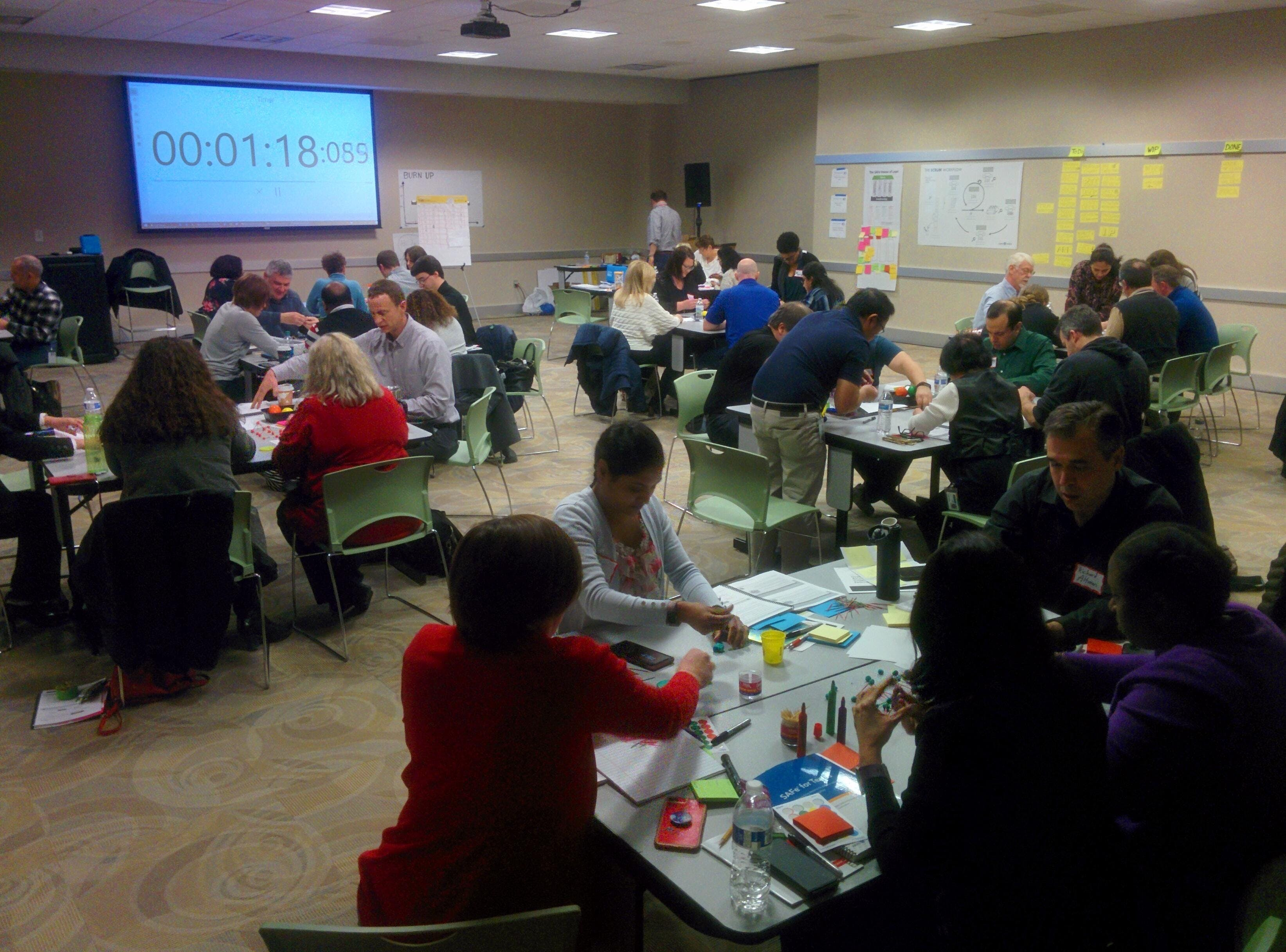 SAFe Leading Agile class (SA certification) DC/VA/MD at Hard Yards ...